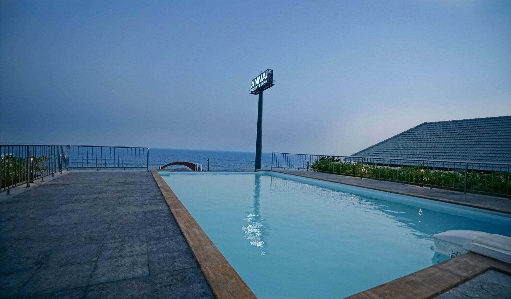 Resorts with swimming pool in kanyakumari