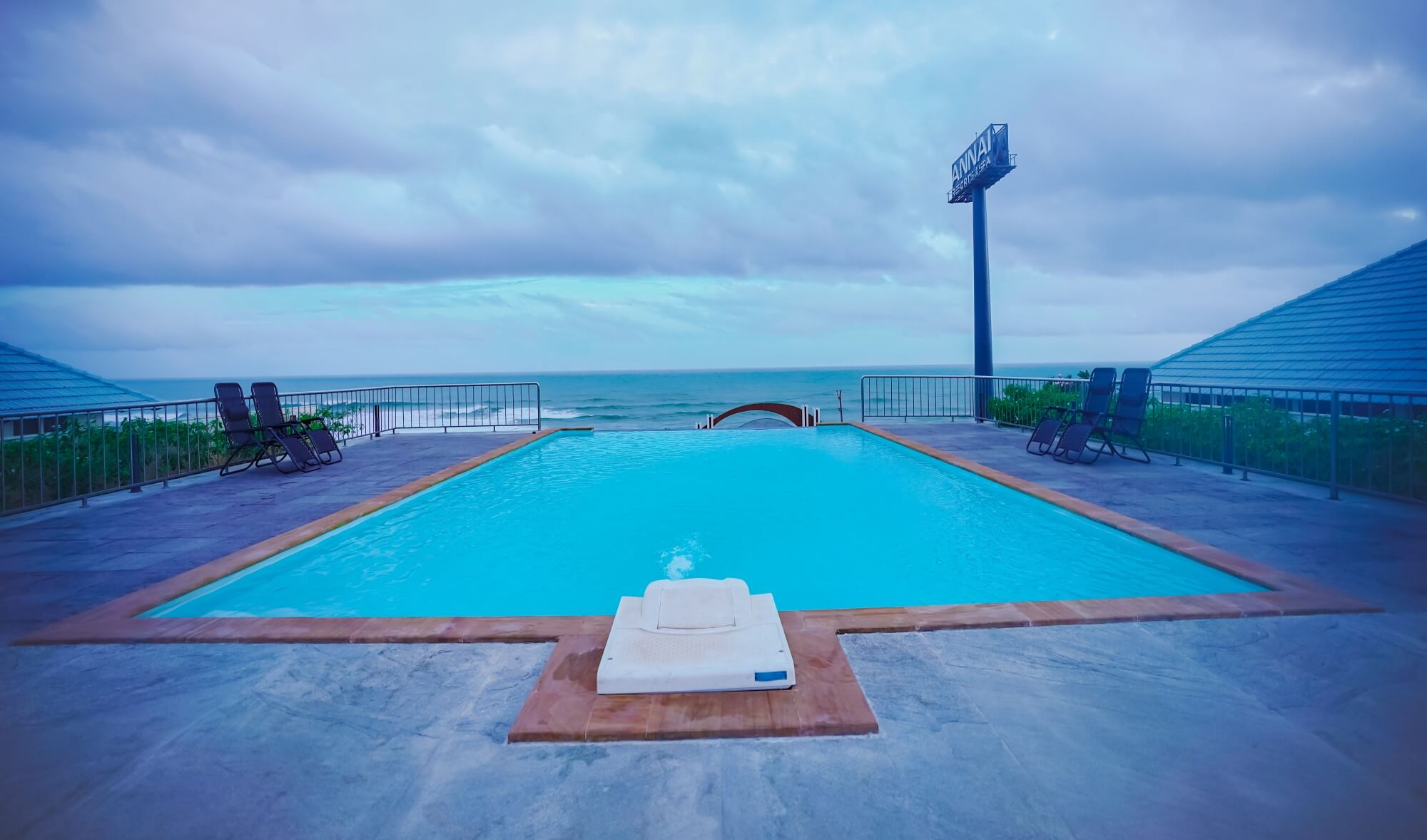 Swimming pool in annai resorts