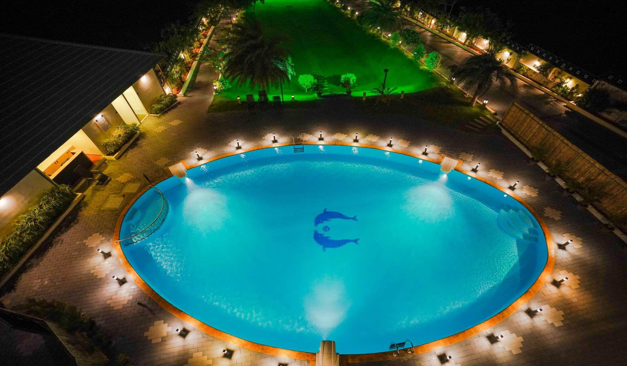 Swimming pool resorts in Kanyakumari